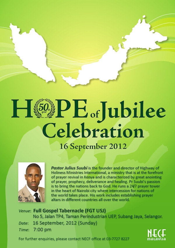 Hope of Jubilee Celebration